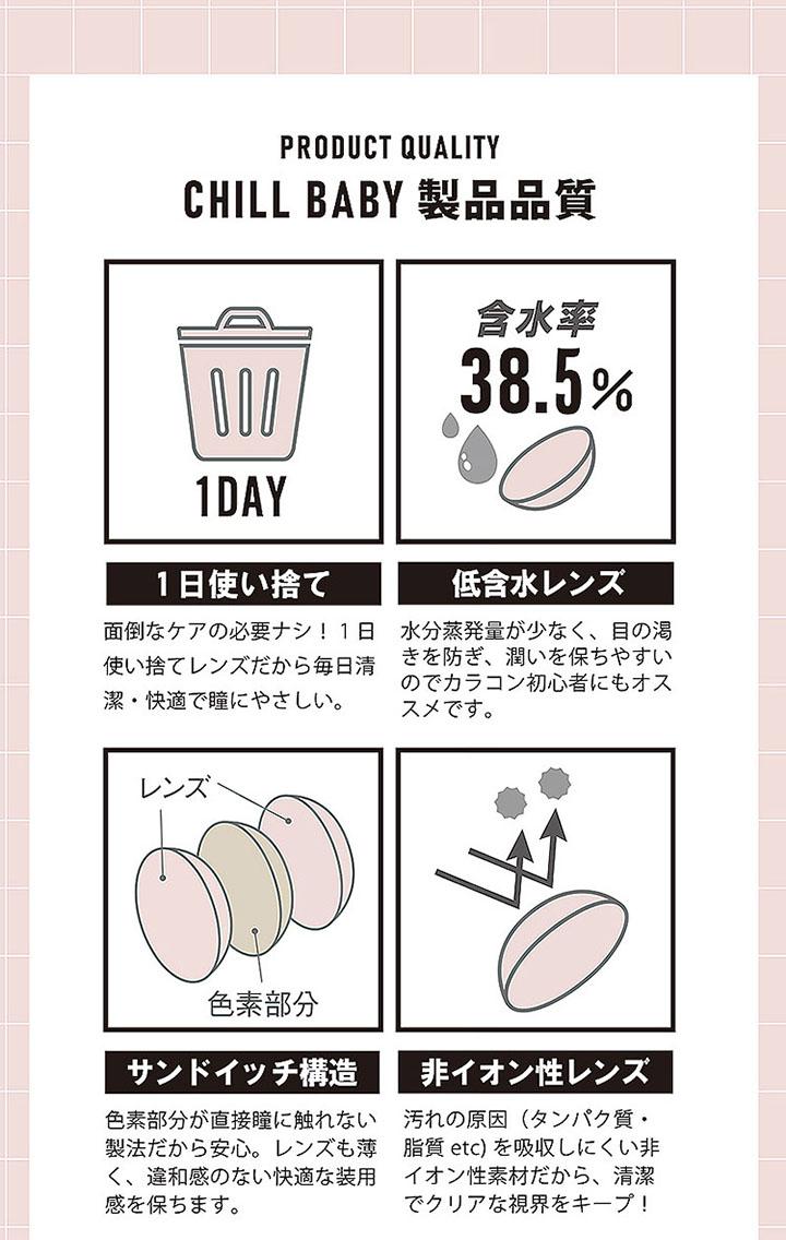 1day 含水率38.5% サンドイッチ構造 非イオン性レンズ