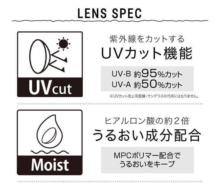 UVカット うるおい成分配合