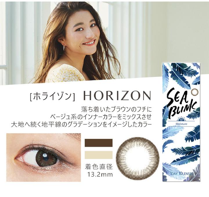 シーブリンクワンデー SEA BLINK 1DAY ホライゾン HORIZON