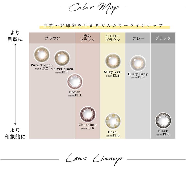 color Map カラーマップ