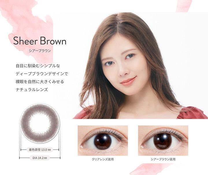 シアーブラウン Sheer Brown