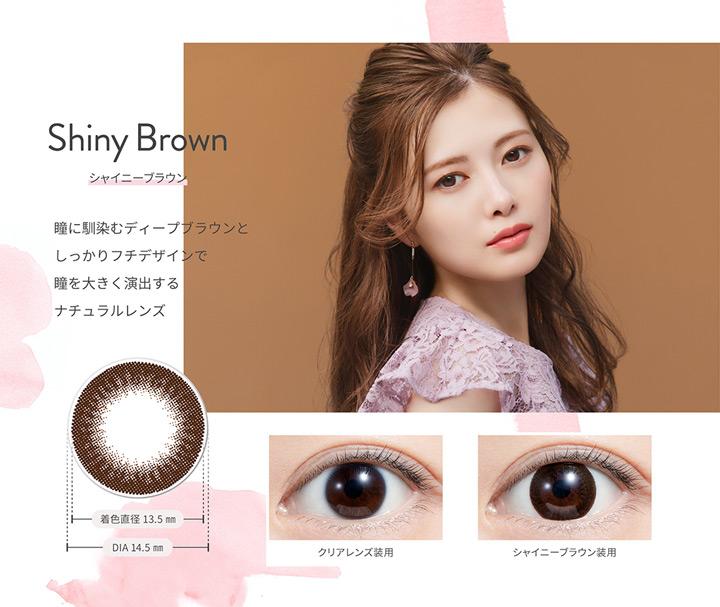 シャイニーブラウン Shiny Brown