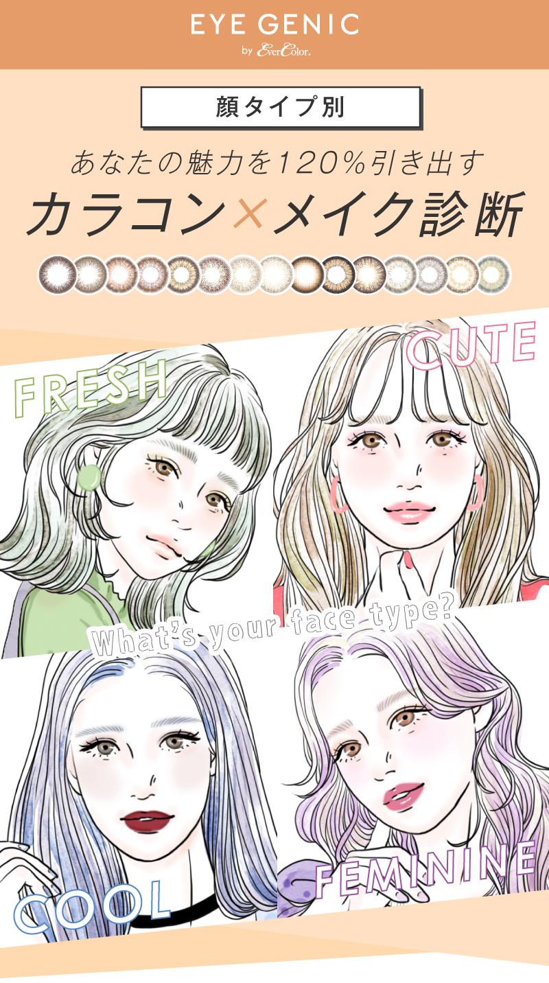 タイプ 写真 顔 診断